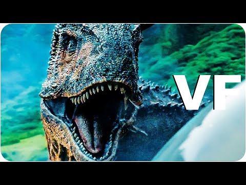 Download Youtube: JURASSIC WORLD FALLEN KINGDOM Bande Annonce VF (2018)