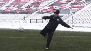 Уроки футбола с Константином Парамоновым. Часть 1