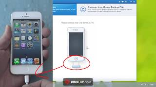 How to Recover Notes directly from iPhone 5S/5C/5 iOS 6/7 without iTunes backup?