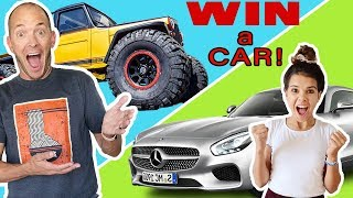 LAST TO STOP doing SERVICE WINs their DREAM CAR?!!  Teen vs Dad