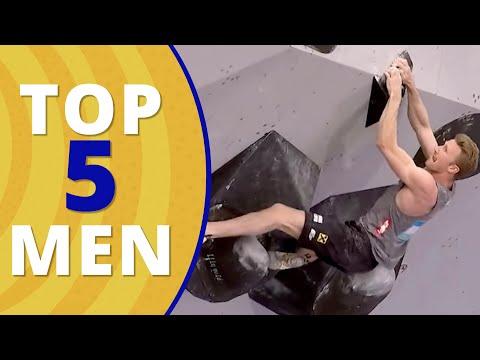 Download Top 5 Men Climbing at the Olympics 2021 Tokyo