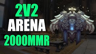World of Warcraft LEGION - 2V2 Arena (Disc Priest Arena)