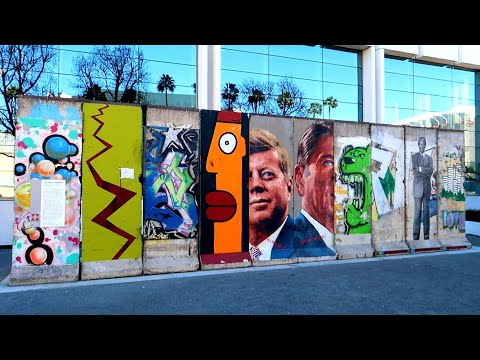 #900 The Largest Section Of The BERLIN WALL Outside EUROPE - Daily Travel Vlog (1/23/19)