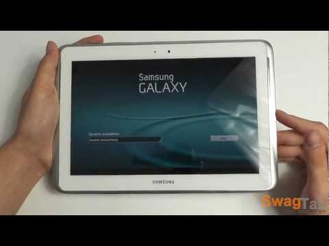 Unboxing: Samsung Galaxy Note 10.1 (Deutsch) | SwagTab