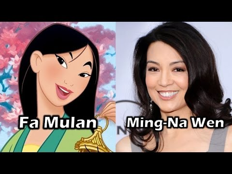 Characters and Voice Actors - Mulan