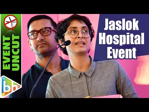 Aamir Khan | Event Uncut | Jaslok Hospital's Special Event | Thug | Amitabh Bachchan