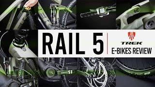 Review Trek Rail 5 II E-Bike - You'll Love This New Electric Mountain Bike