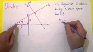 Analitik Geometri 4 - Doğruların Birbirilerine Göre Durumları Şenol Hoca Matematik