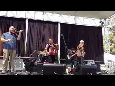 Steve Riley and the Mamou Playboys at Simi Valley Cajun & Blues Music Festival 2013