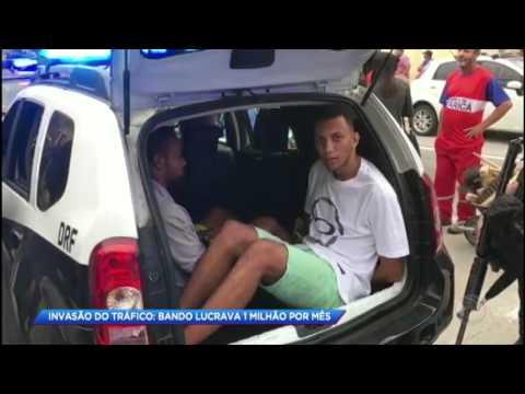 Polícia prende quadrilha que lucrava 1 milhão por mês com o tráfico no Rio