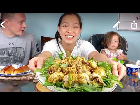 Vlog 653 Ll Ngọc ăn Dĩa Trứng Vịt Lộn To đùng, Ngất Ngây