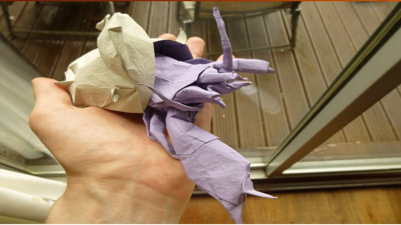Origami Hermit Crab Colour Changed Experts Only