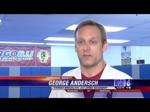 Fargo BJJ / Kickboxing - WDAY News - Self Defense in Fargo