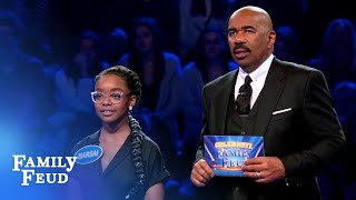 Can Marsai and Miles lead Team black-ish to 25000  Celebrity Family Feud