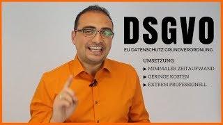 DSGVO Umsetzung Praxis-Lösung❗️Deutschland (Datenschutz Grundverordnung)