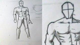 Как нарисовать мужское тело(Нашел не плохой способ рисовать накачанное тело человека. Способ не идеальный, но очень полезный. Постараюс..., 2013-10-22T20:09:20.000Z)