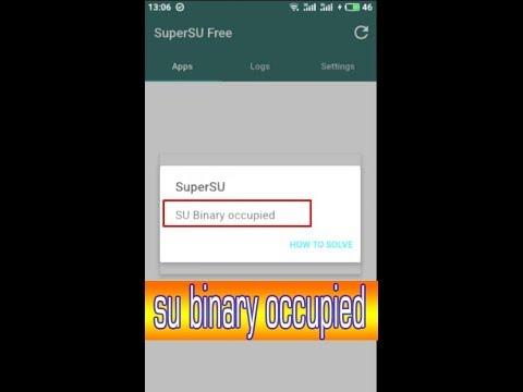 SuperSU: Mengatasi SU Binary occupied