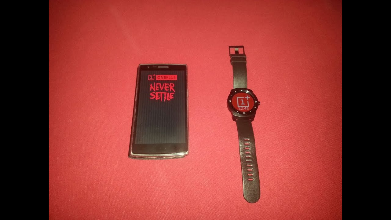 Smartwatch by OnePlus Was Never Published