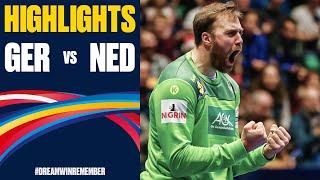 Germany vs Netherlands Highlights Day 1 Men s EHF EURO 2020