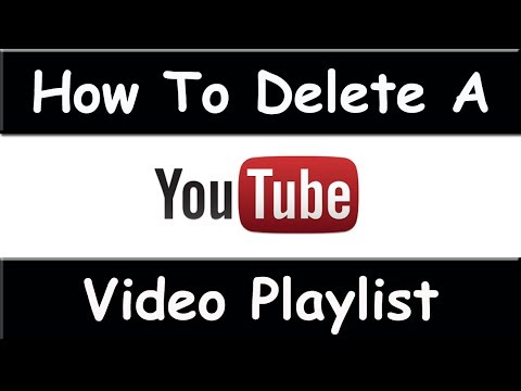How To Delete A Playlist On YouTube - March 2015 (Easy and Fast)