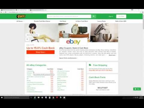 Get 15% Cash Back Buying Silver on Ebay Using Ebates - Limited Time