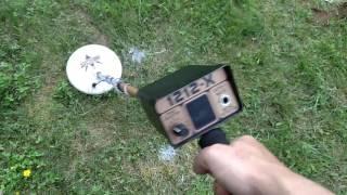 Компанія Fisher 1212x детектор металу саду відео