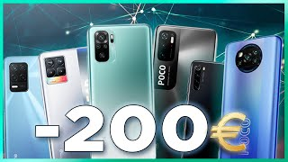 Mejores Móviles Android por menos de 200€ #SHORTS