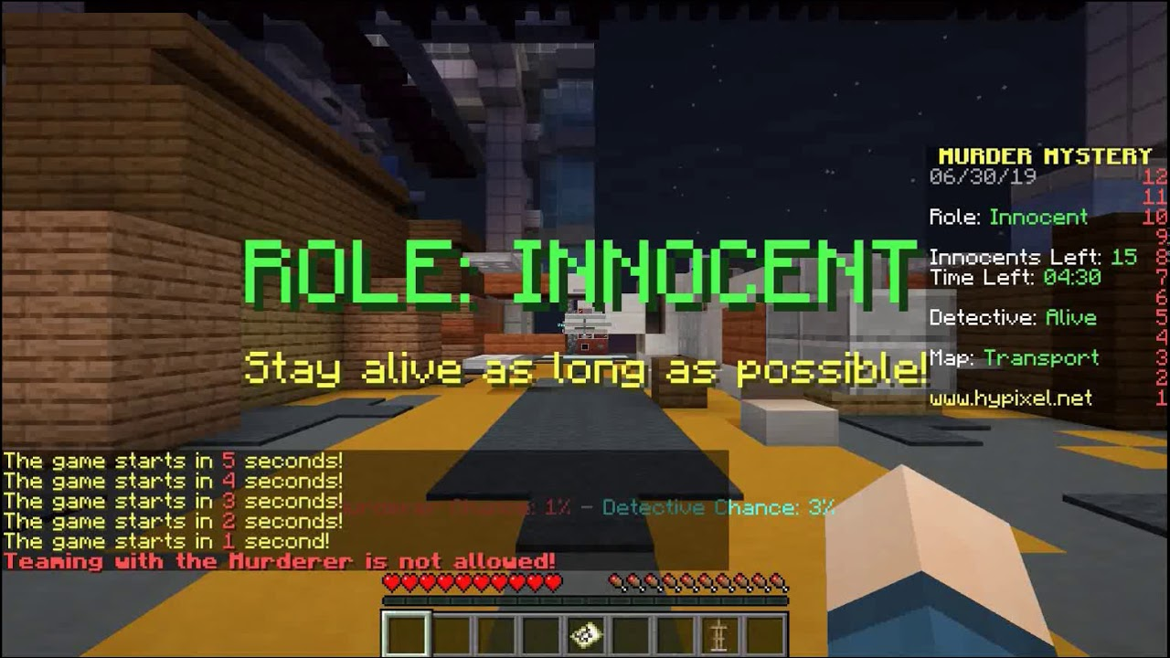 Roles Reversed : Hypixel mini games episode 4