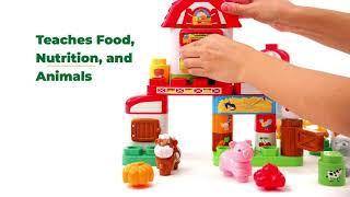 LeapBuilders® Food Fun Family Farm™   Demo Video   LeapFrog