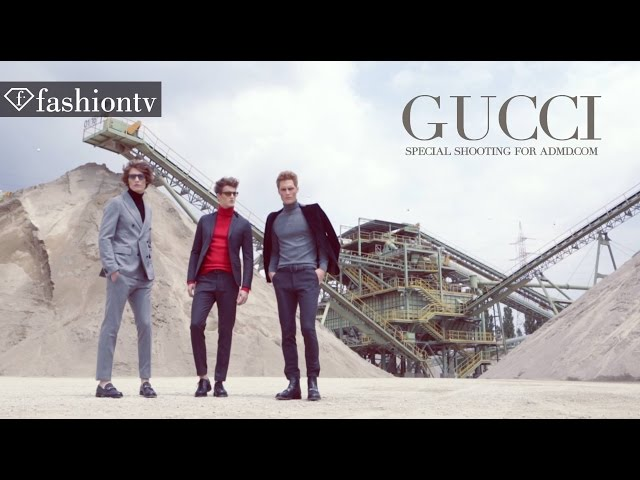 GUCCI FW 2015 SPECIAL SHOOTING by GIOVANNI SQUATRITI | FashionTV