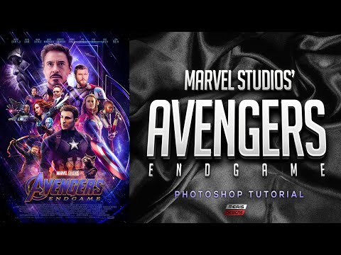 Marvel Studios' Avengers: Endgame - Official Poster Photoshop Tutorial thumbnail