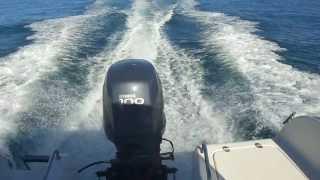 moteur yamaha 100cv 4T sortie lagon à nouméa