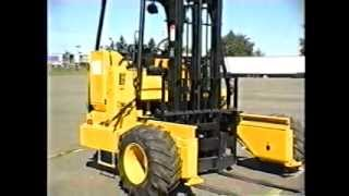 Operating a Truck Mounted Forklift