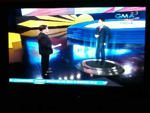 GMA 7 Hologram: Philippine Presidential Election May 10, 2010