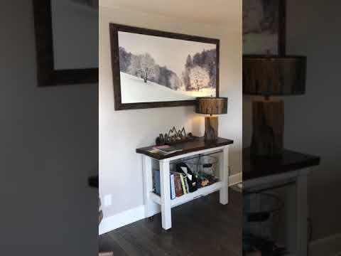Frame for metal prints