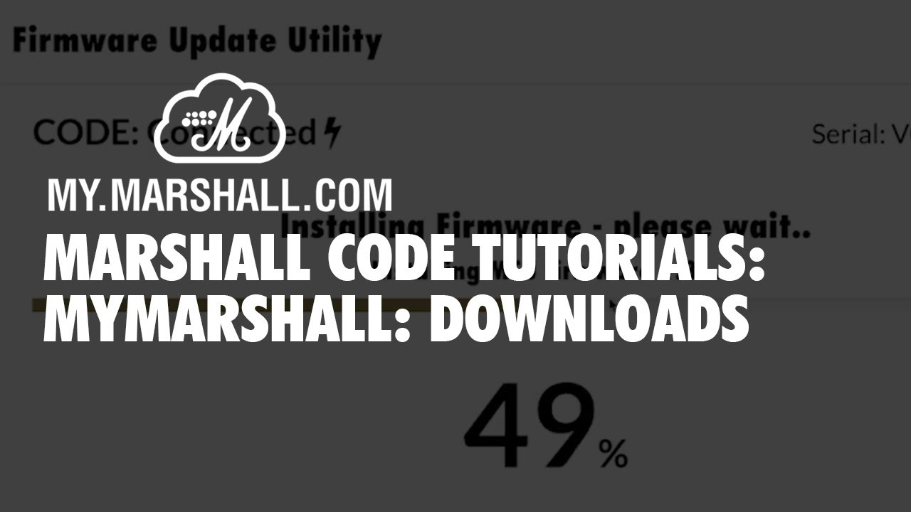 Getting Started with Marshall CODE Series Amplifiers
