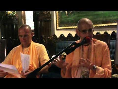 Radhastami Lecture - Glories of Srimati Radharani - Giridhari Swami, Rtadhvaja Swami, Giriraj Swami