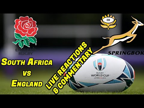 FINAL - England Vs South Africa - Live Reactions, Commentary, Updates And Chat- Rugby World Cup 2019