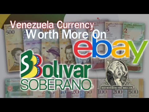 Venezuela Bolivar Soberano Currency Worth More On Ebay