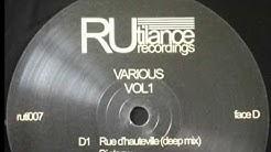 Dj Steaw - Rue d'Hauteville (Deep Mix) - Vol1 [Rutilance Recordings 2015]
