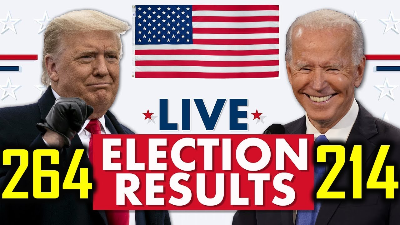 Live Election results Watch 2020 Election Coverage | us presidents  election results 2020