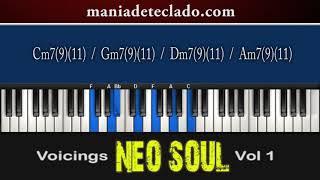 Apostila Voicings Neo Soul Vol 1 - Progressão 3