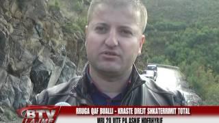 TV BULQIZA Rruga Qaf Bualli Kraste e shkaterruar