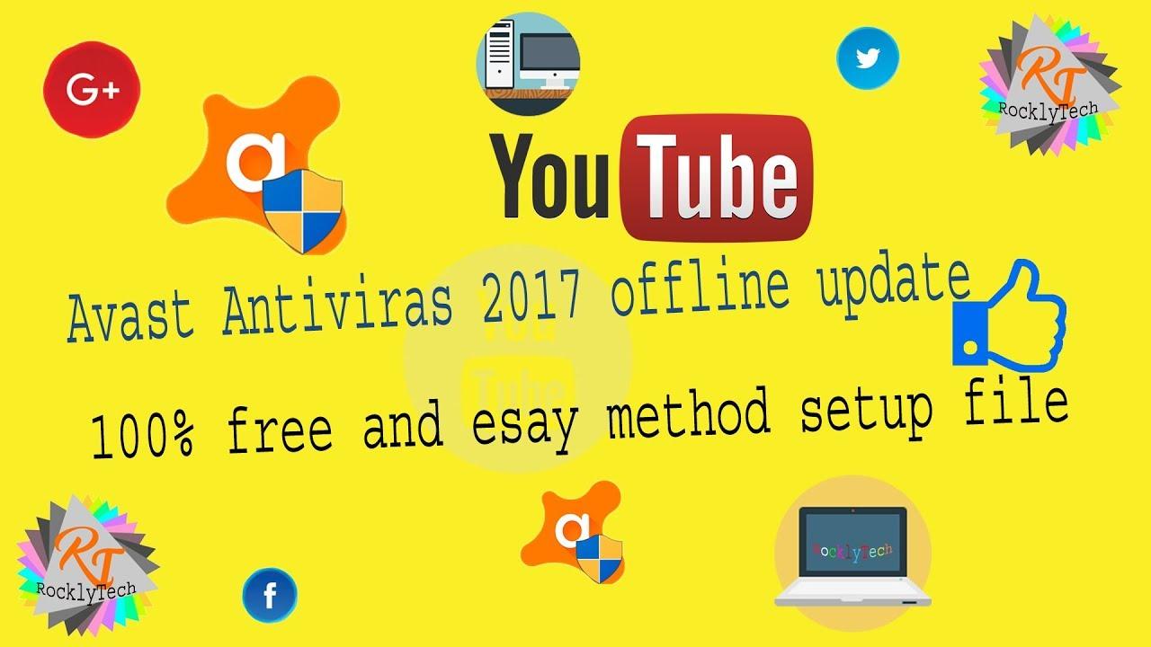 how to avast antivirus update