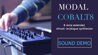 #Modal Electronics #COBALT 8 Best Virtual-Analogue #Synthesizer 2021 | Features & Sound Demo
