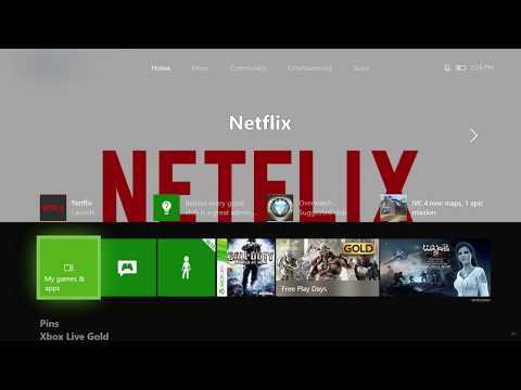 Xbox One Fall 2017 Dashboard Update