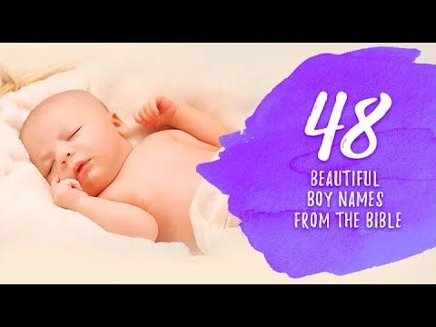 48 Handpicked Biblical Boy Names of Christian Origin