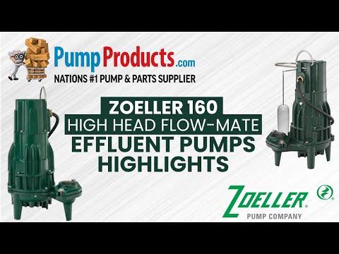"""Zoeller 160 Series """"High Head Flow-Mate"""" Effluent Pump Product Highlight"""