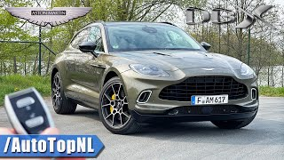 2021 Aston Martin DBX REVIEW on AUTOBAHN [NO SPEED LIMIT] by AutoTopNL