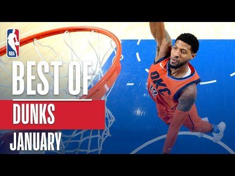 NBA's Best Dunks   January 2018-19 NBA Season
